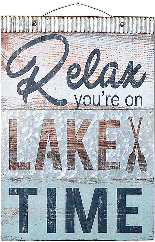 Relax plaque wooden plaque