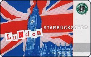 Starbucks London gift card | vi | Pinterest | Starbucks, Starbucks ...