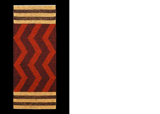 Handwoven rugs by Janet Birch