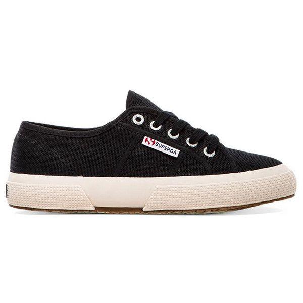 Chaussures Noires À Lacets Cotu Femmes Superga kepSH