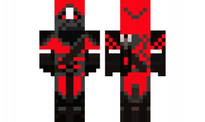 Minecraft Skin Red Panda Assassin Red Minecraft Skins Minecraft