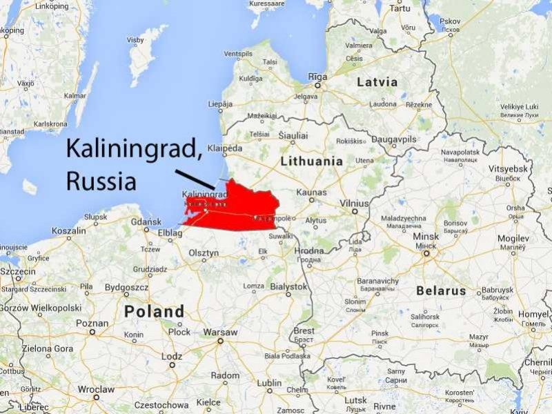 kaliningrad mapa Kaliningrad Map | Rtlbreakfastclub kaliningrad mapa