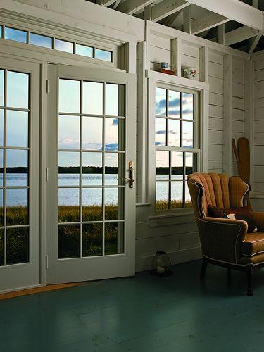 Frenchwood Hinged Patio Door | Hinged patio doors, Andersen windows ...