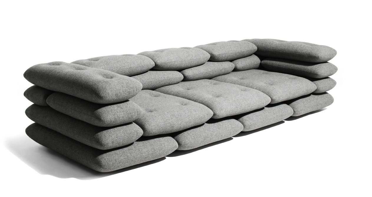 Brick Sofa By Jotjot The Best Sofa Ever Seen Designed By Bjarke Ingels And Kibisi Design Group House Furniture Design Iconic Furniture Furniture Design