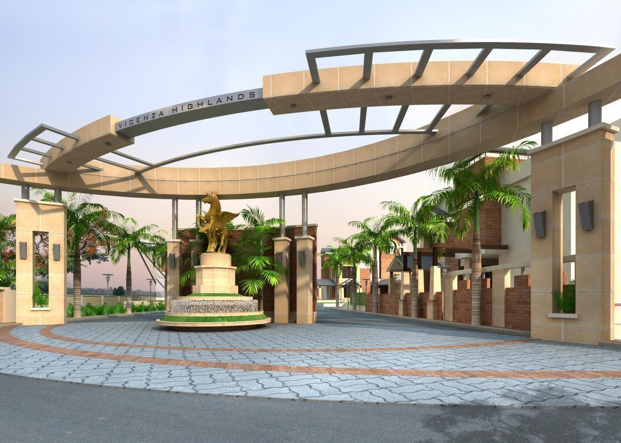 Modern Entrance Gate Design For Township Www Pixshark