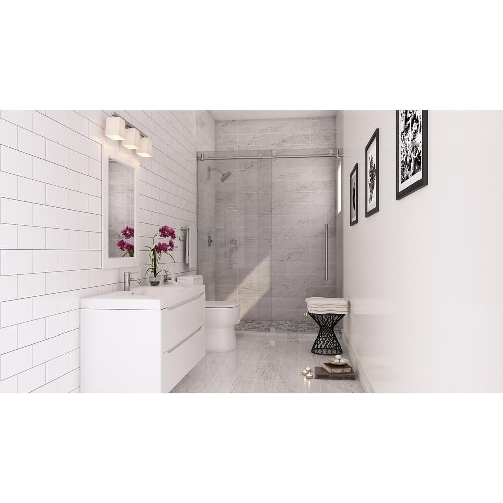 MS International Greecian White 6 in. x 12 in. Polished Marble Floor ...