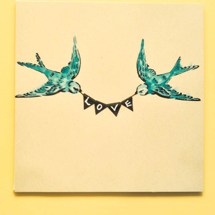 All You Need Is Love Swallow Wall Art Stenciling Diy Art And