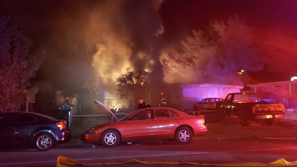 Ogden house fire displaces 3, causes 150K in damages