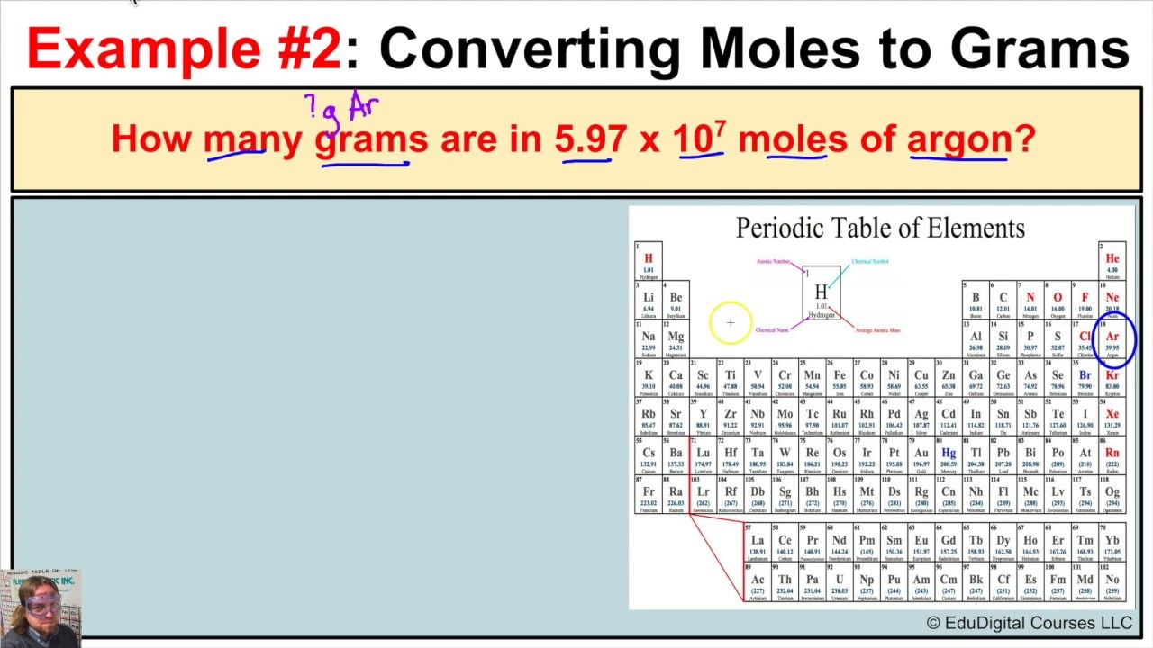 How to convert moles to grams and grams to moles for elements on how to convert moles to grams and grams to moles for elements on the ptoe nvjuhfo Choice Image