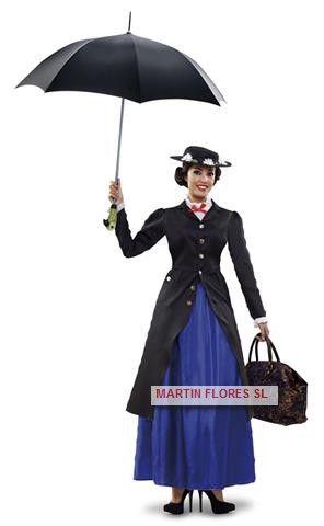 Disfraz Mary Poppins..niñera mágica.Mucha más variedad en  www.martinfloress...  Carnaval  sevilla  Martin flores  854d6bddabf