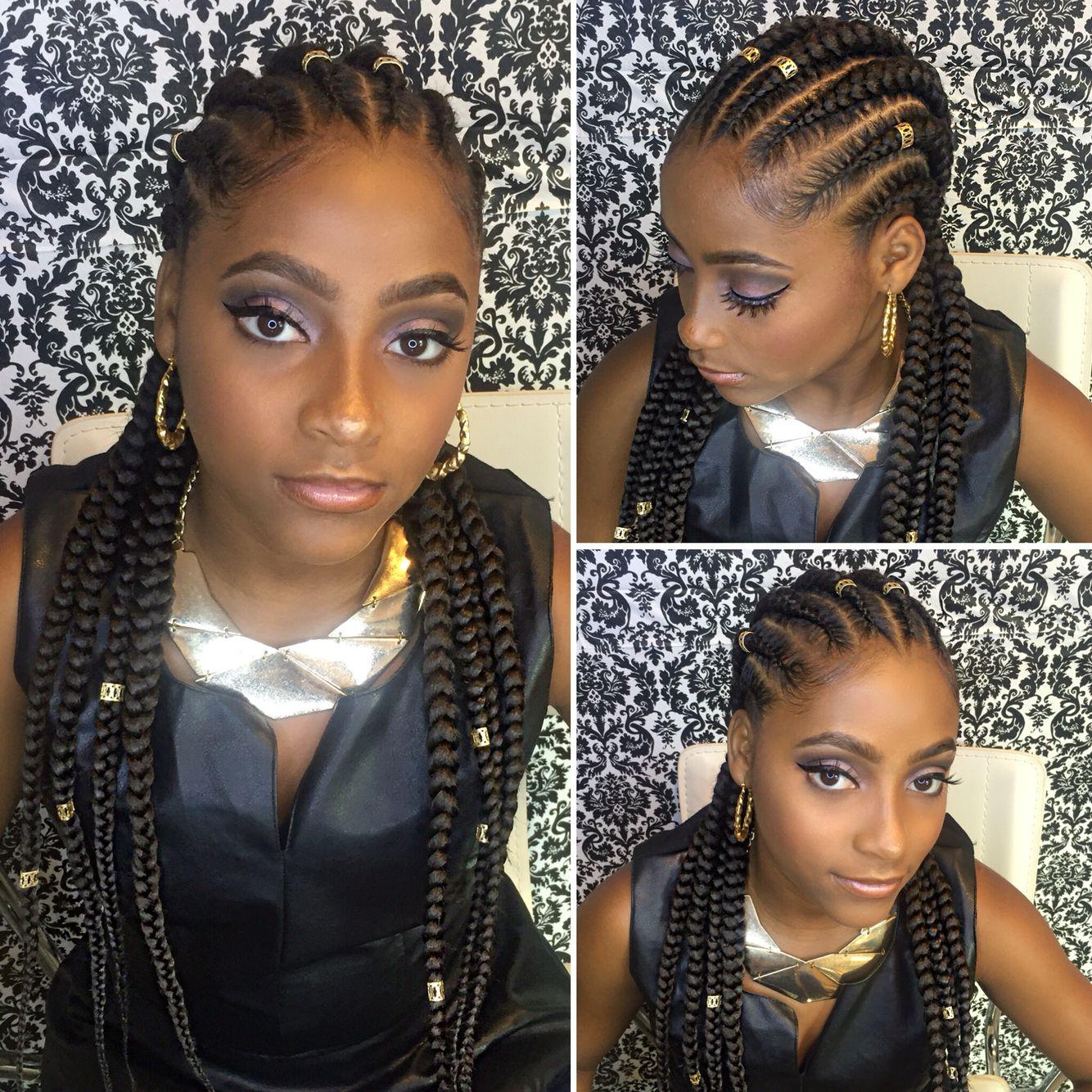Ghana braids by styledbynikki hair dous made simple
