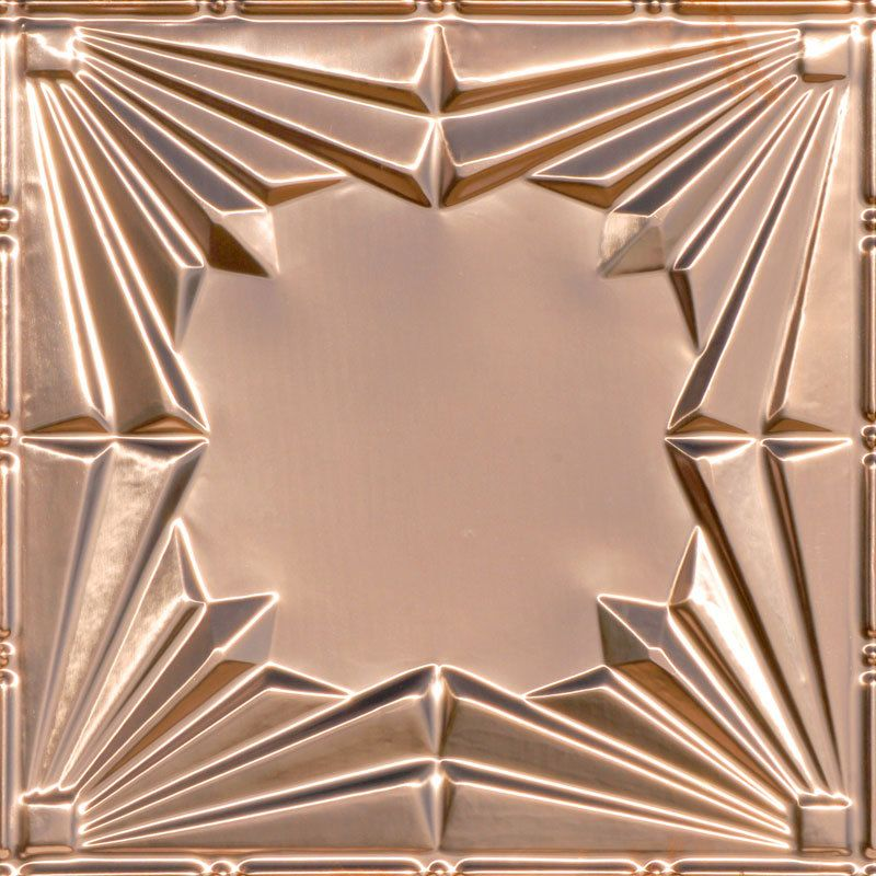 Opening Act Copper Ceiling Tile 2405 Copper Ceiling Tiles Copper Ceiling Tin Ceiling