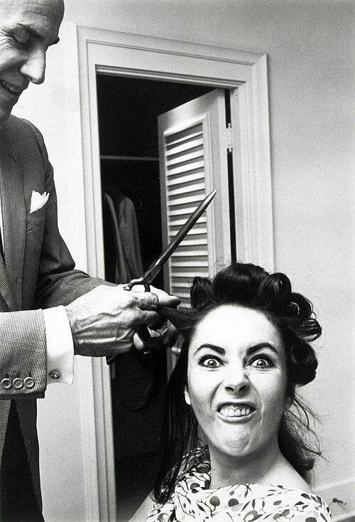 "Elizabeth Taylor photographed by her friend Roddy McDowall in the 1960s. McDowall wrote on the photo ""This is the true Elizabeth Taylor!"""
