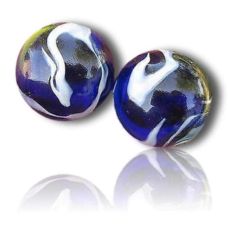 Custom 1 3 8 Inch 2 Mid To Huge Size Glass Marbles W Etsy Glass Marbles Handmade Basket Fillers