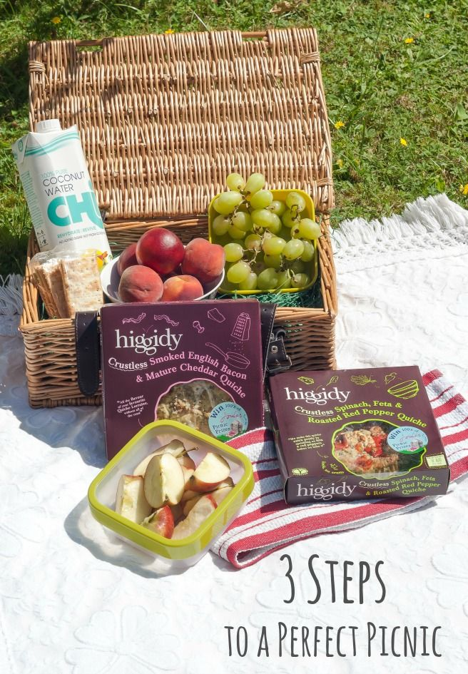 3 Steps to a Perfect Picnic