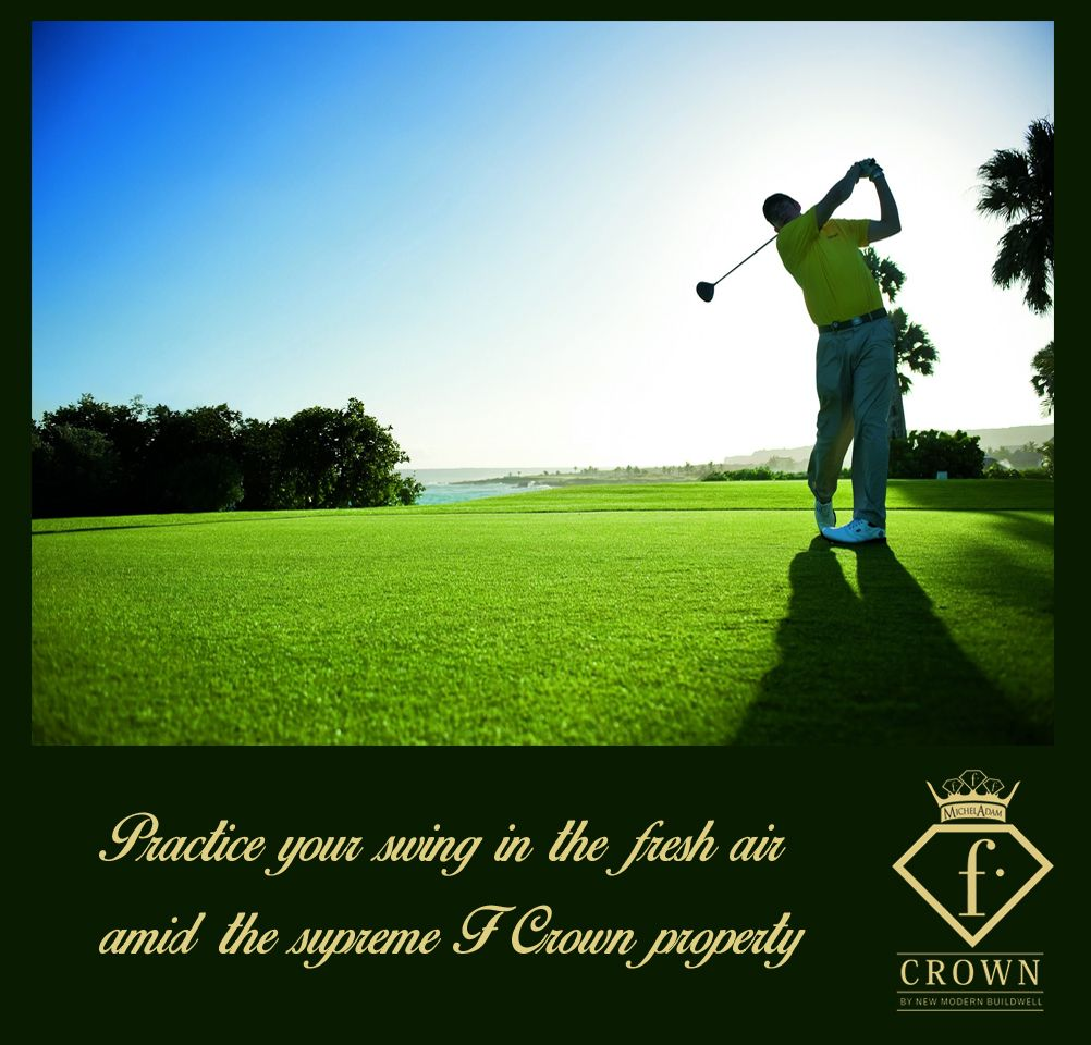 F Crown S 18 Hole Lush Green Golf Course Lucknow Golf Golfers Luxury Golfcourse Golf Golf