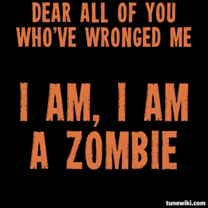 Zombie. The Pretty Reckless