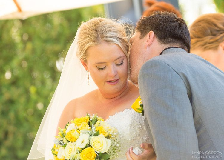 Intimate moment between bride and groom | Astra Bride Sophia | Sileni Wine Estate | Maggie Sottero Emma | Lynda Gordon Photography