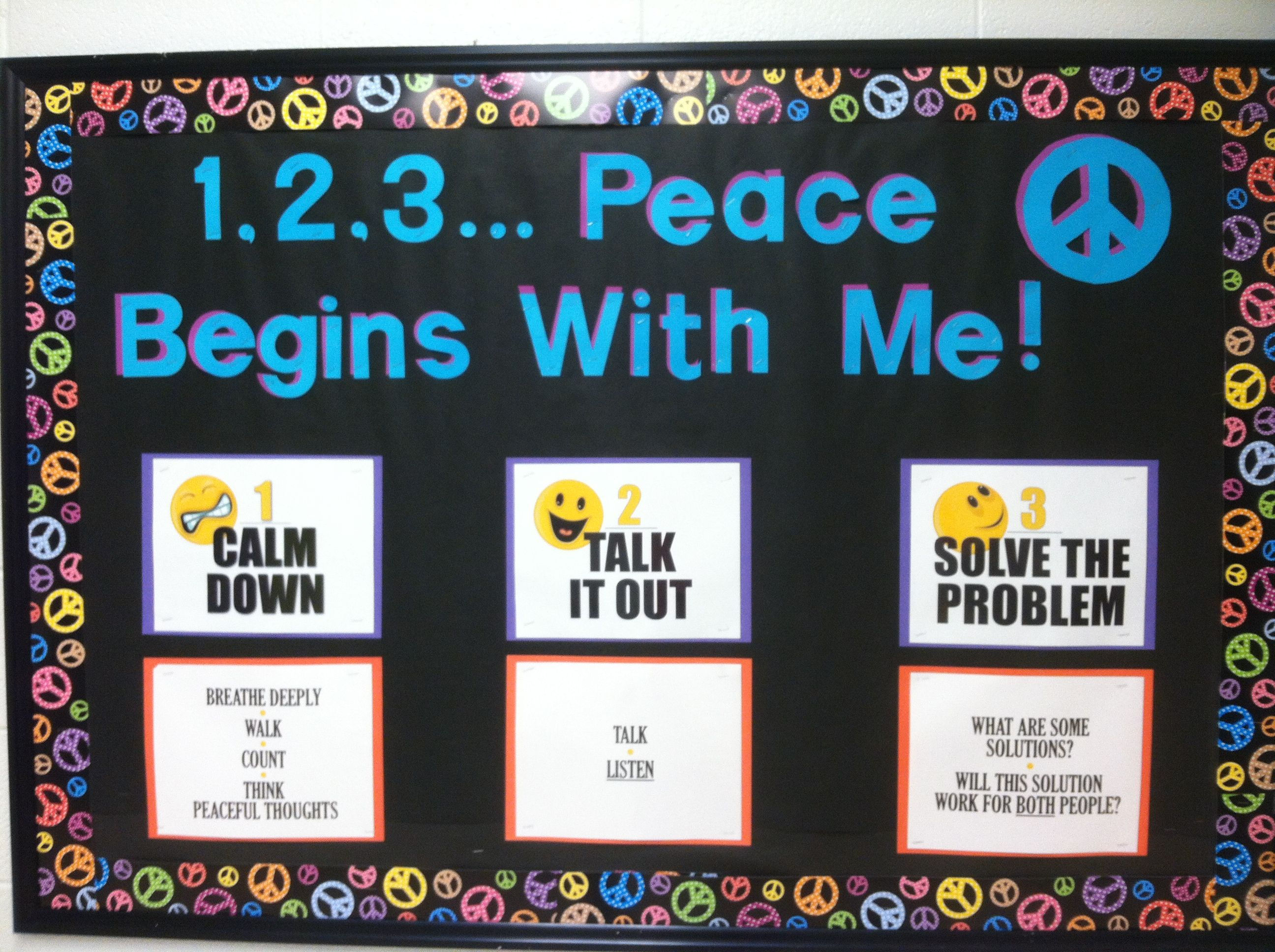 Peaceful conflict resolution bulletin board meant for elementary peaceful conflict resolution bulletin board meant for elementary but edinboro could use this campus beefh fandeluxe Images