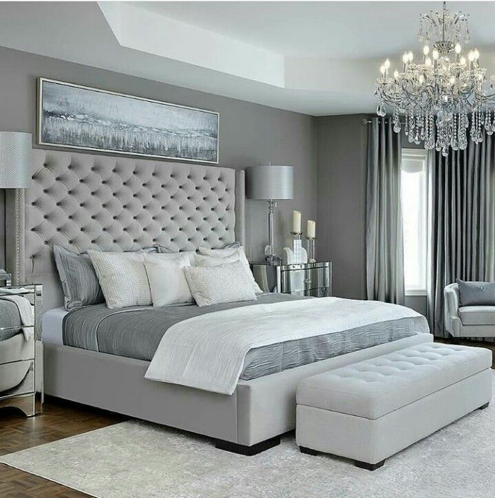 Pin By Makayla On Bed Grey Bedroom Design Simple Bedroom Design Simple Bedroom