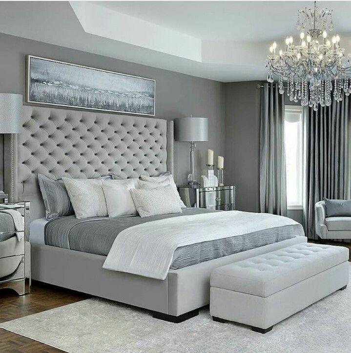 Pinterest:: BriaAngelique | Grey bedroom design, Simple ...