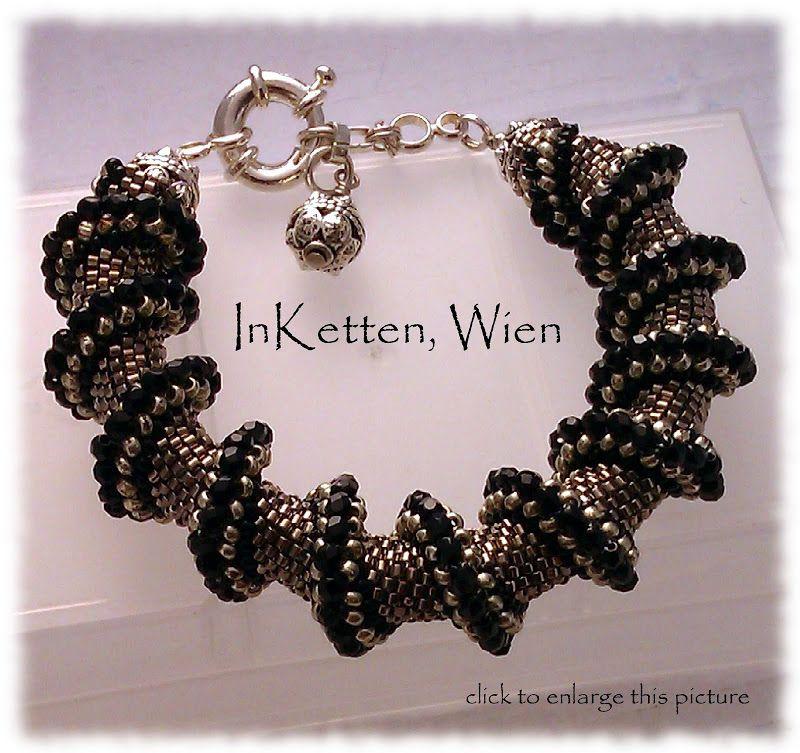 InKetten, Peyote Technik Armbänder, Bracelets; Handgearbeitete Schmuckobjekte, Wien - InKetten - Schmuckobjekte, Wien - Picasa Web Albums