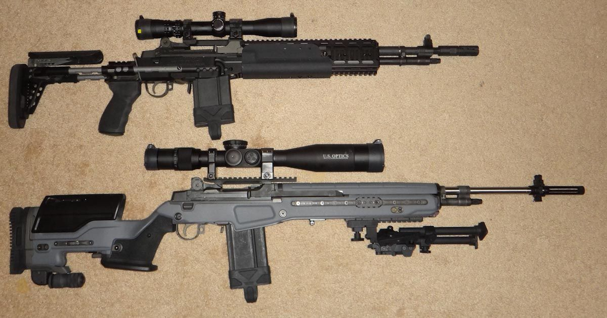 Modern Day M14/M1A Platform Rifle - Page 2 - M14 Forum ... M14 Tactical Sniper Rifle