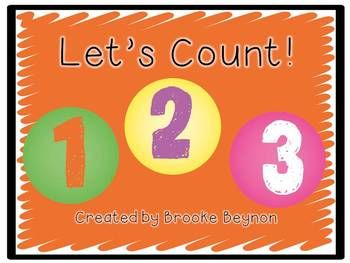 Let's Count!! Numbers to 30, count by 1's, 2's, 5's, 3's, 10's - powerpoint {freebie}