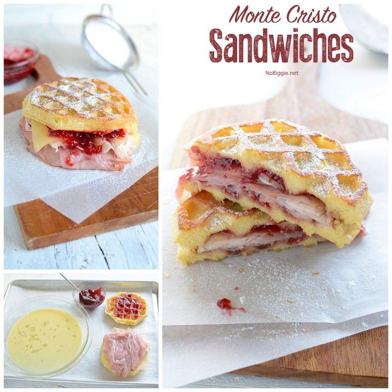 Monte Cristo Sandwiches Nobiggie Monte Cristo Sandwich Sandwiches Food