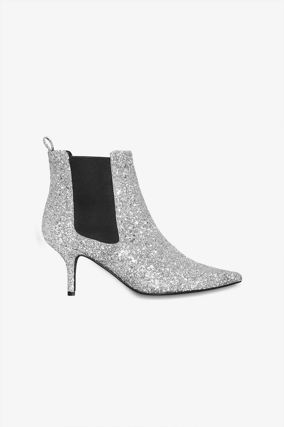 ANINE BING STEVIE BOOTS - SILVER