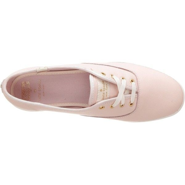 4d1cf2babc4 Keds x kate spade new york Champion (Rose Dew Tumbled Leather) Women s...  ( 90) ❤ liked on Polyvore featuring shoes