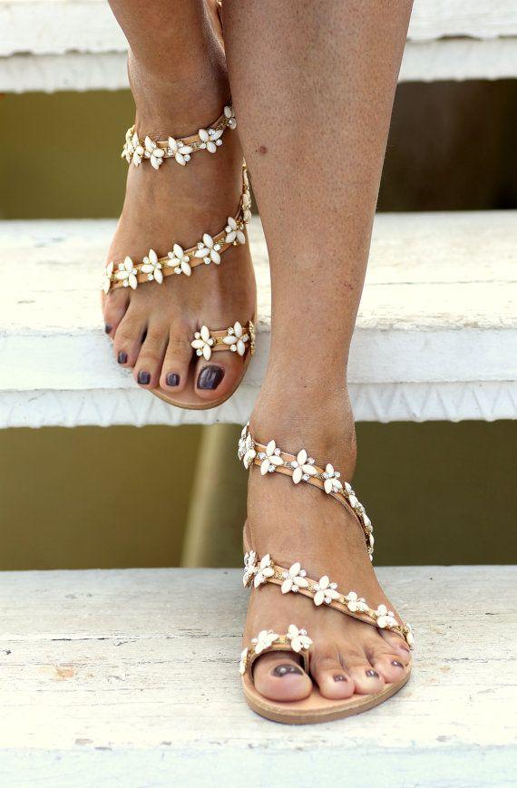 33205906cd78 Bridal Sandals Natalie handmade to order by ElinaLinardaki on Etsy ...