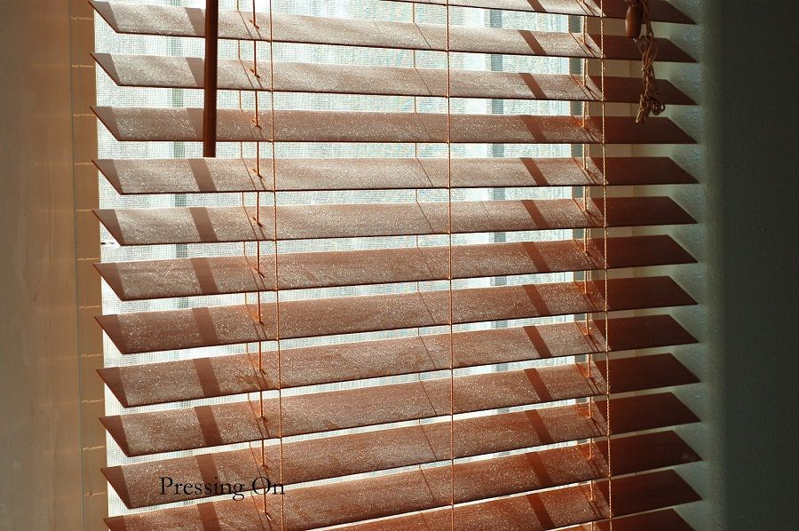 spray paint blinds Window Wood blinds, Cleaning wood