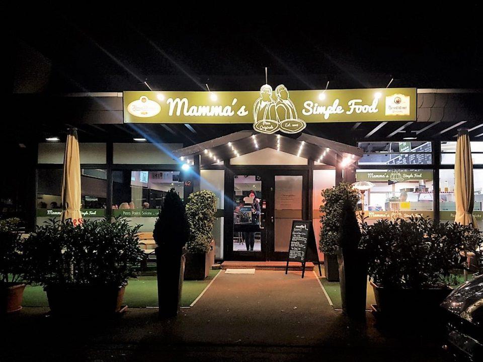 Mammas Simple Food Im Gewerbegebiet Dinslaken Pizza Und Pasta Pizzeria Pizza