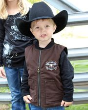 Cowboy Hardware Boys' Cowboy Tough Vest - Toddler - www.fortwestern.com