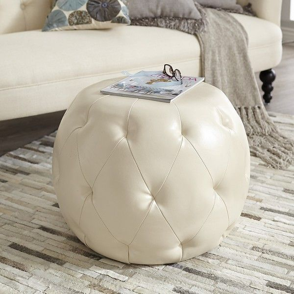 Pleasant Pier 1 Imports Ormand Tufted Round Ottoman 160 Liked Ibusinesslaw Wood Chair Design Ideas Ibusinesslaworg