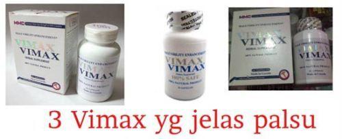 contoh ciri perbedaan vimax asli dan palsu dan and itu