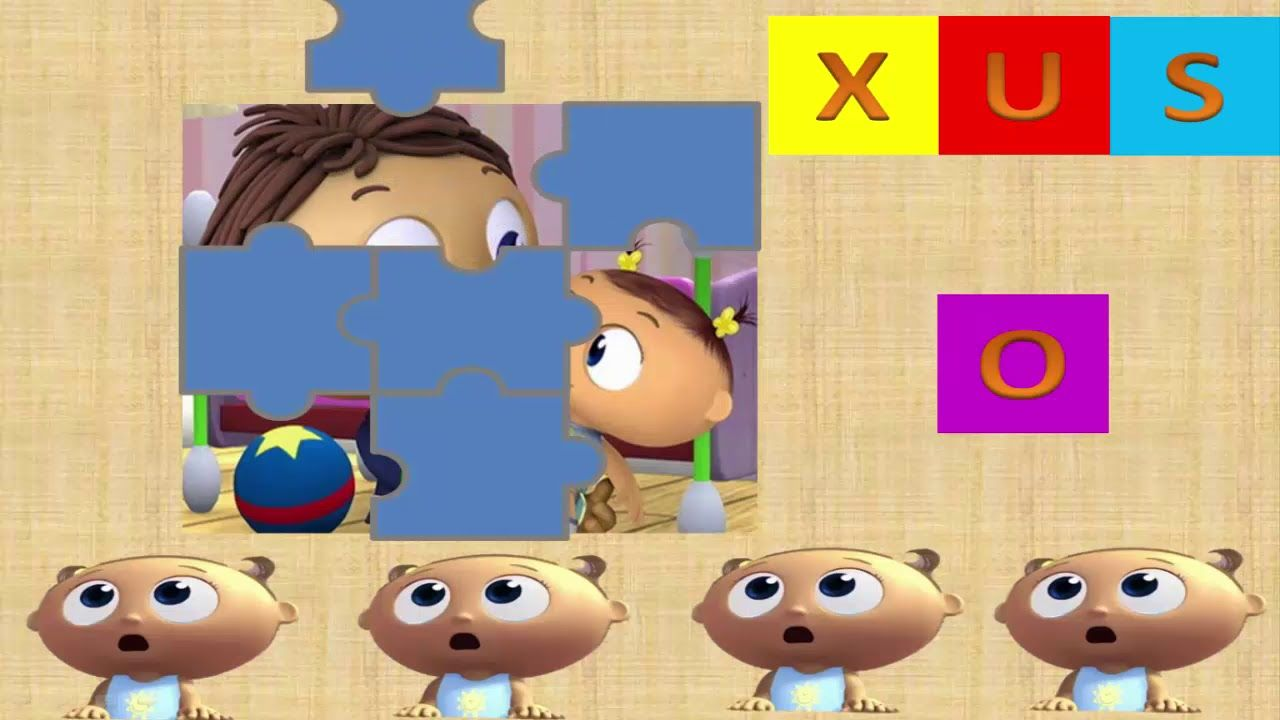 Super Why Baby Joy l puzzles with super why Joy