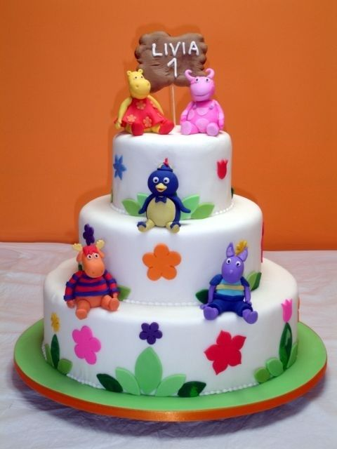 Tortas y Pasteles Backyardigans | queques | Pinterest | Pastelitos ...