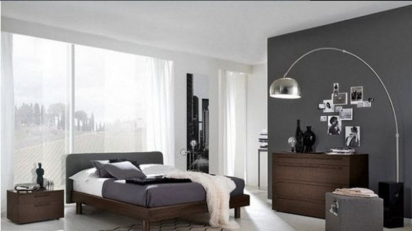 Elegant Interior Design Grey Wall