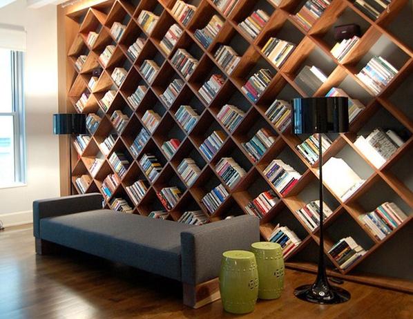 Modern Creative Bookcase Design