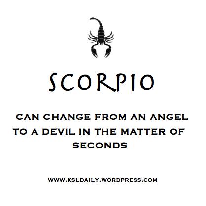 Quotes of Scorpio