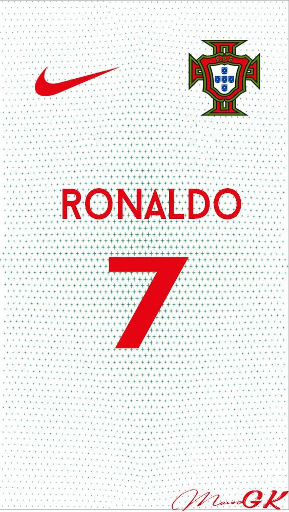 Fond D Écran Portugal portugal visitante c.ronaldo jersey 2018 maurogk | fond d'écran // foot