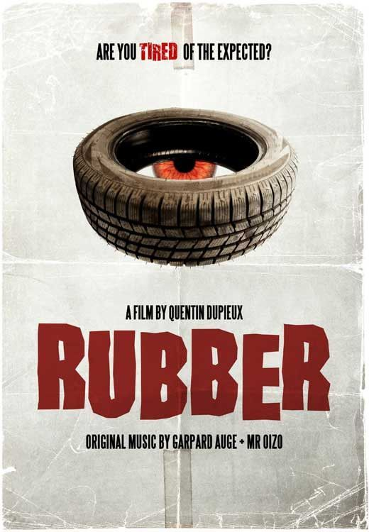 Rubber (French) 11x17 Movie Poster (2010)