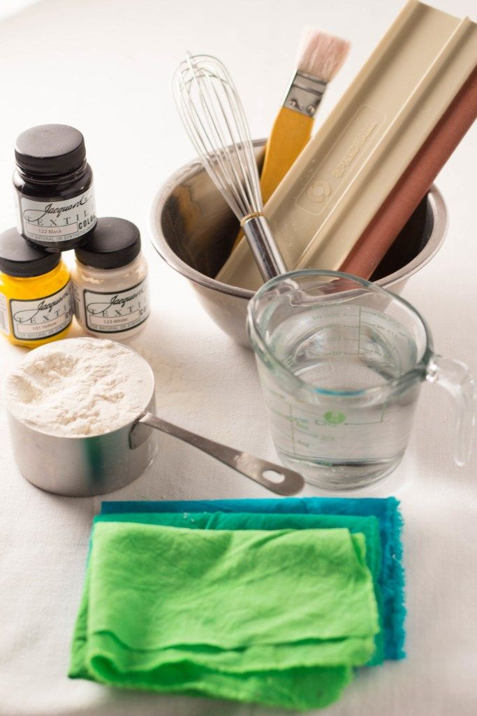 Flour paste resist supplies