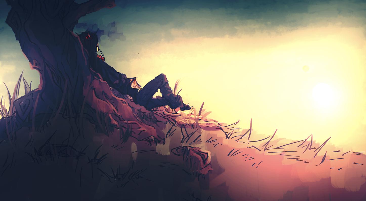 THE-GOETIA: sunset by frappuu.deviantart.com on @deviantART
