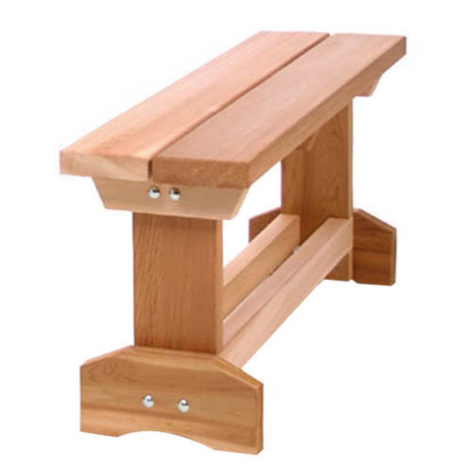 Outdoor All Things Cedar 3 Ft Backless Market Bench Western Red Cedar Diy Woodworking Woodworking Simple Woodworking Plans