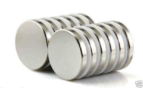 100pcs 3 X 5mm Neodymium Disc Super Strong Rare Earth N50 Small Fridge Magnets