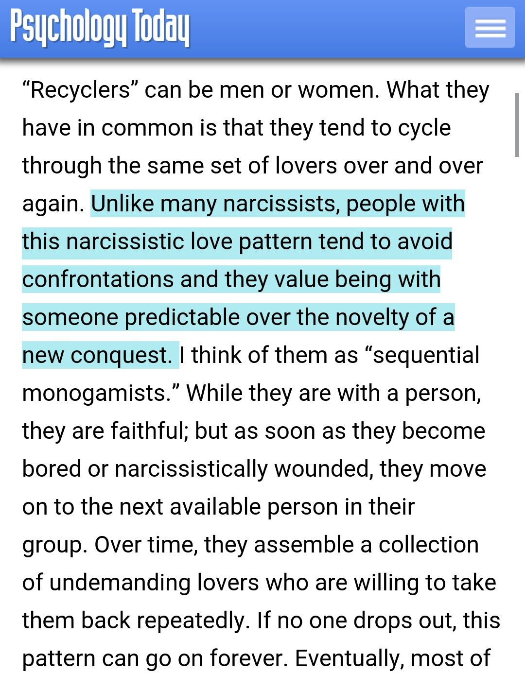 Narcissistic Behavior Patterns New Inspiration Ideas
