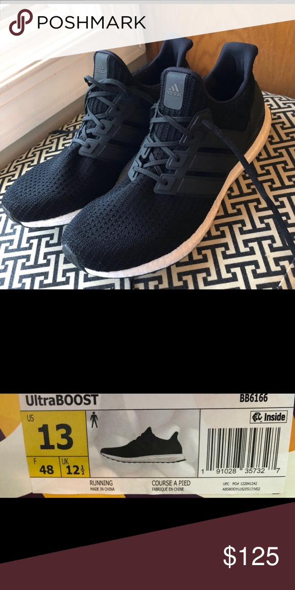 79cd001d6f7 Adidas ultraboost Adidas men s ultraboost 4.0. Size 13. Worn once.  Unfortunately the box got thrown away. All offers welcome! adidas Shoes  Athletic Shoes